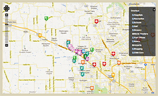 Willowcreek Ranch - Amenities Map