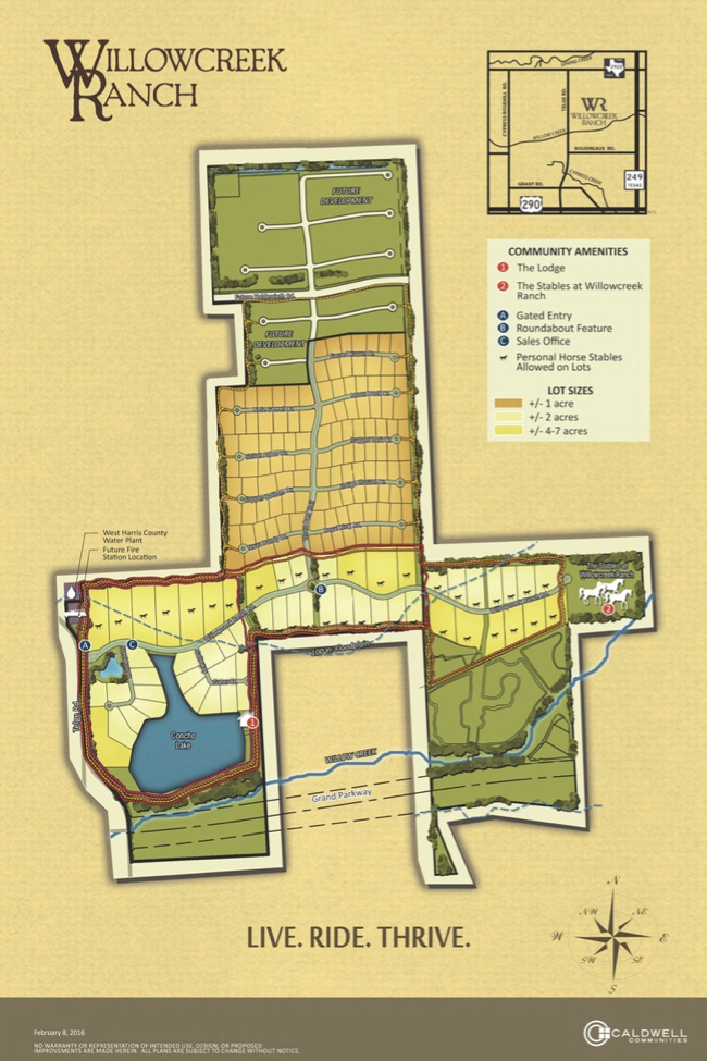Willowcreek Ranch - Community Map